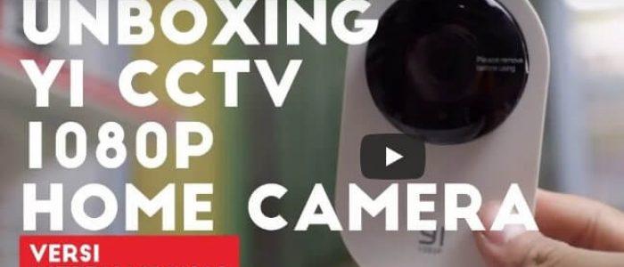 Unboxing Yi CCTV 1080p Home Camera Versi Internasional