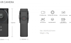 Permalink ke YI 360 VR CAMERA, Camera 360 Yi Technology